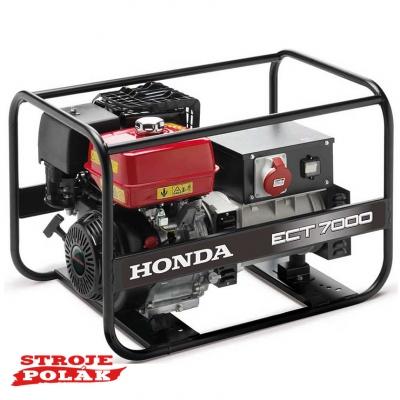 Elektrocentrála Honda ECT 7000 F