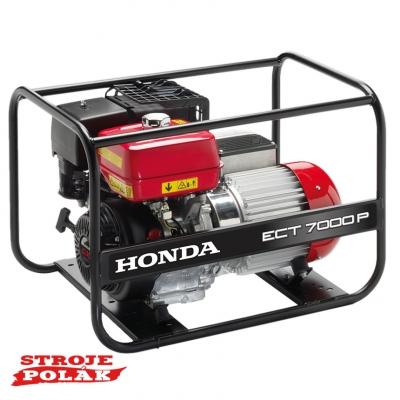 Elektrocentrála Honda ECT 7000 P
